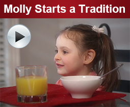 Molly Starts a Tradition